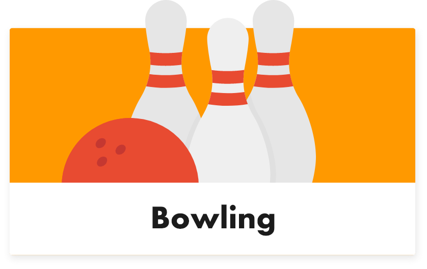 Bowling - Tabletmenukaart - Digitale menukaart