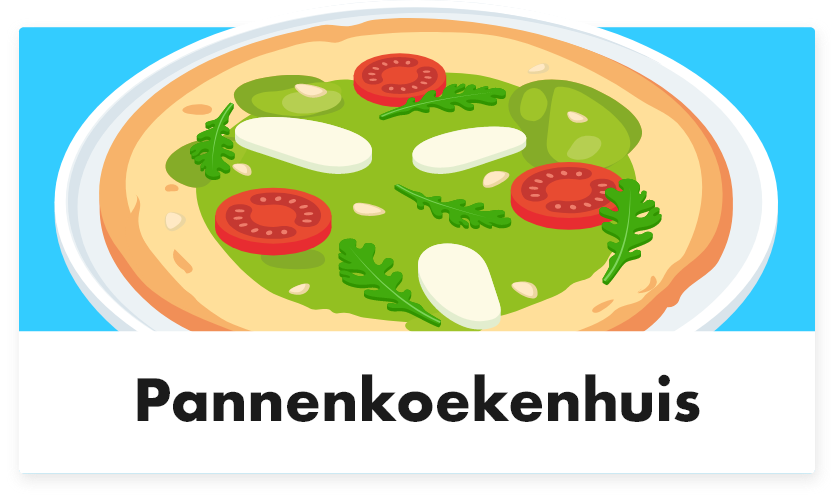 Pannenkoeken - Tabletmenukaart - Digitale menukaart