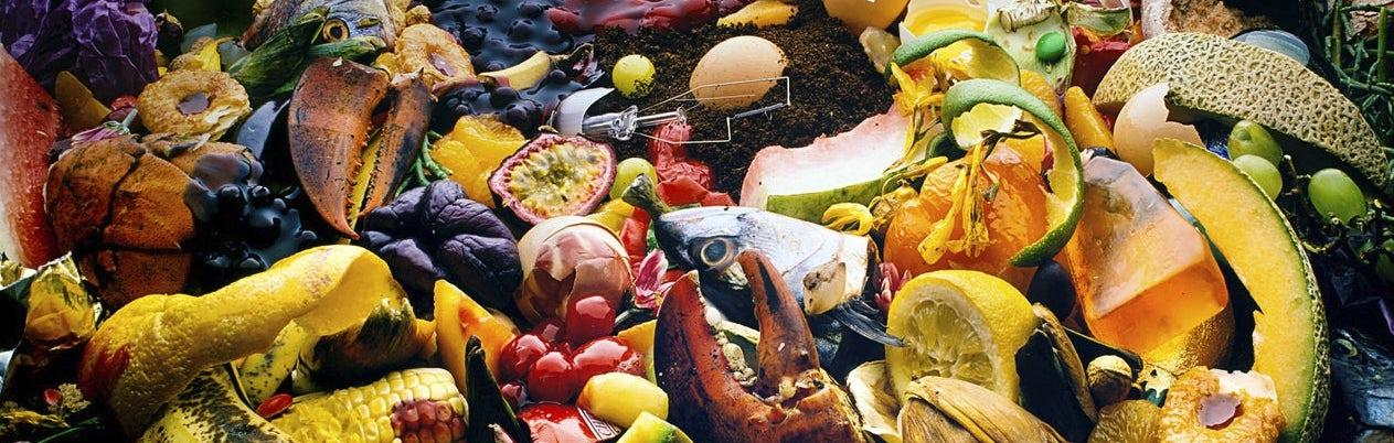 Food waste - Tabletmenukaart